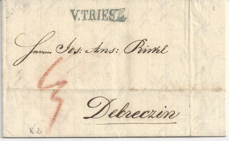 Vorphilatelie Österreich  -   Briefe aus der Vormarkenzeit - Seite 2 Bild_517