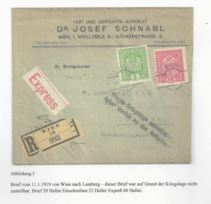 Die Auslandsexpreßgebühr ab 1.9.1918 Bild_520