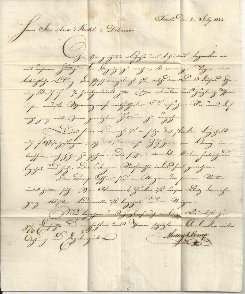 Vorphilatelie Österreich  -   Briefe aus der Vormarkenzeit - Seite 2 Bild_613