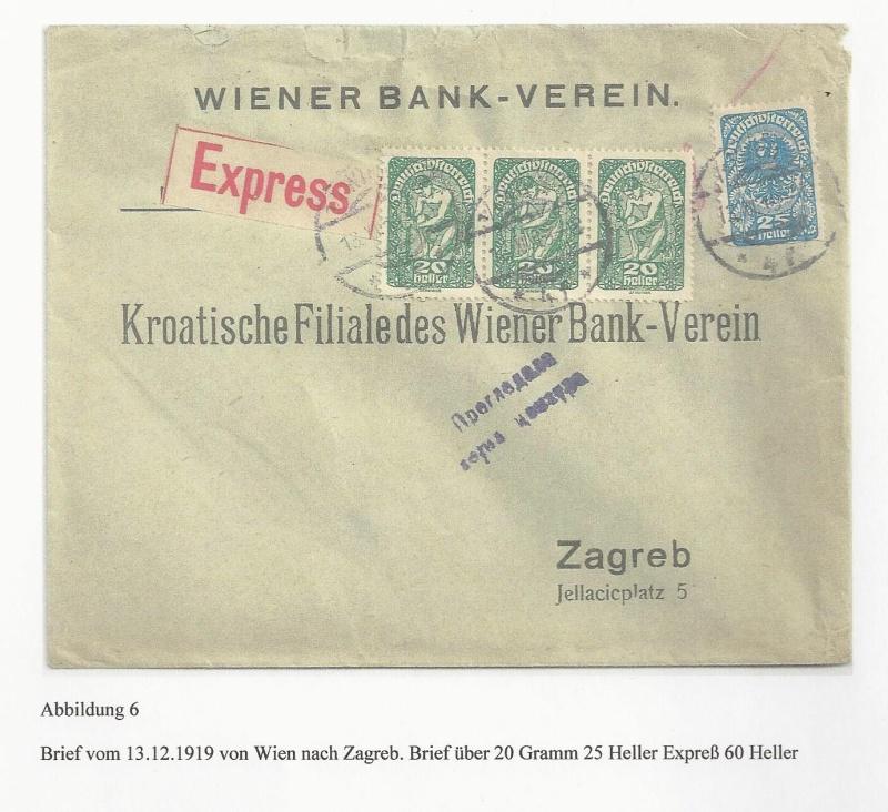 Die Auslandsexpreßgebühr ab 1.9.1918 Bild_615
