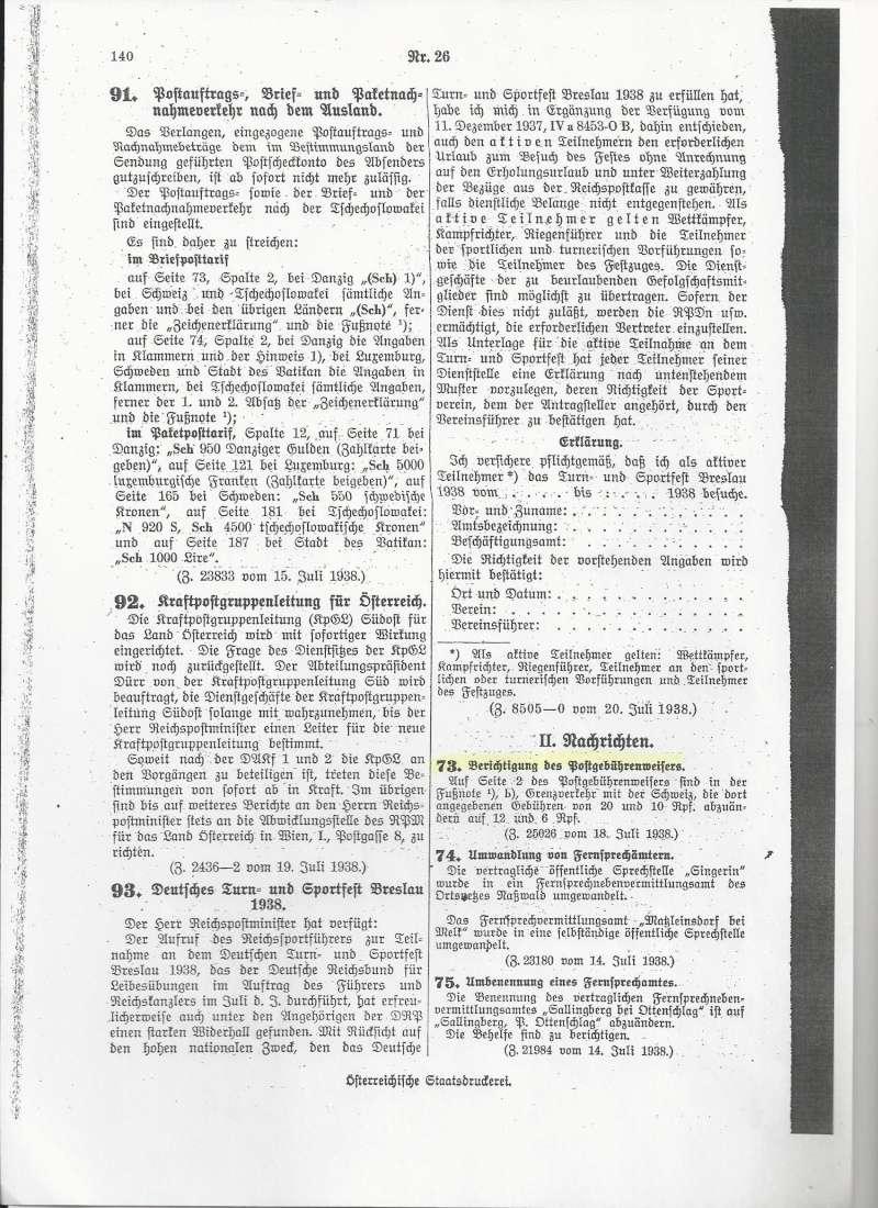 Österreich im III. Reich (Ostmark) Belege - Seite 7 Bild_810