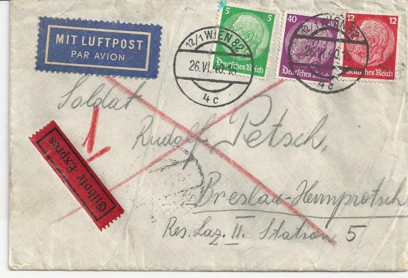 Österreich im III. Reich (Ostmark) Belege - Seite 7 Bild_811