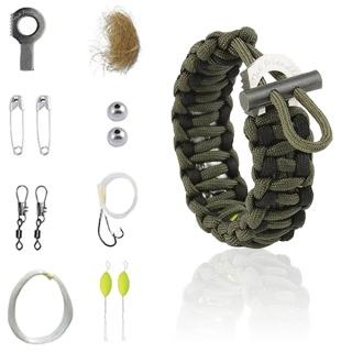 """Bracelet en paracorde dit """"de survie"""" 613xjj10"""
