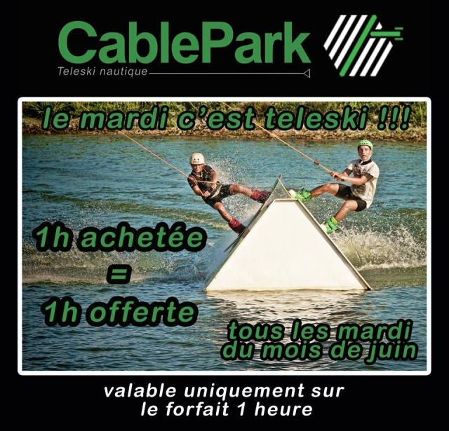Le bon plan du mois de Juin au Cable Park d'Avensan 13335610