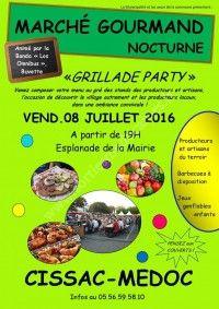 Marché Gourmand Nocturne le 8 Juillet 2016 à Cissac Médoc 6f94c510