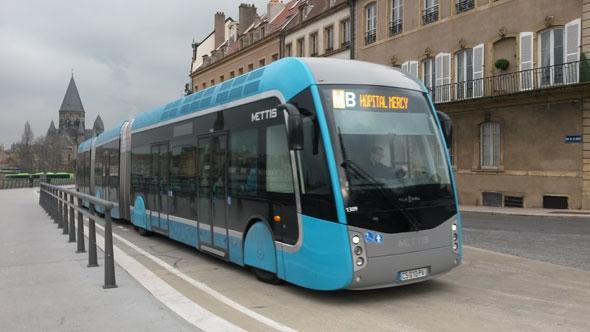 Le Bus à Haut Niveau de Service arrive aux portes du Médoc Bus-me10