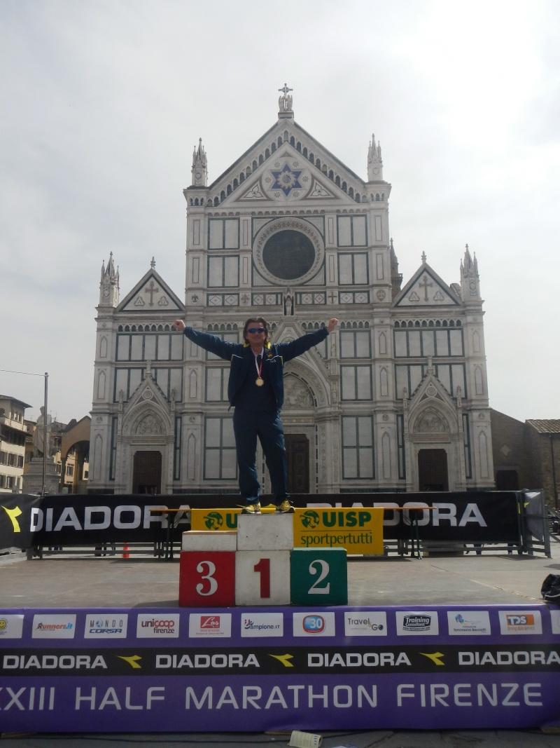XXXIII Vivicittà half marathon Firenze. Dscn6413
