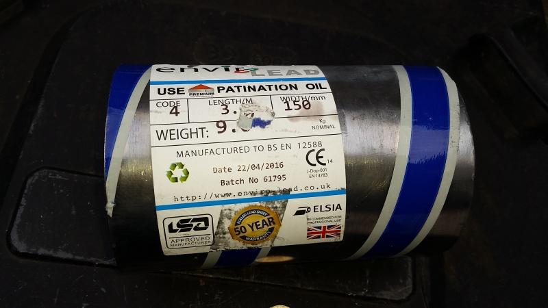 Lead sheet for ballast 20160510