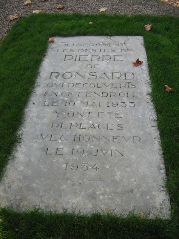 La tombe de Pierre de Ronsard - La Riche - Indre et Loire - France 18048210