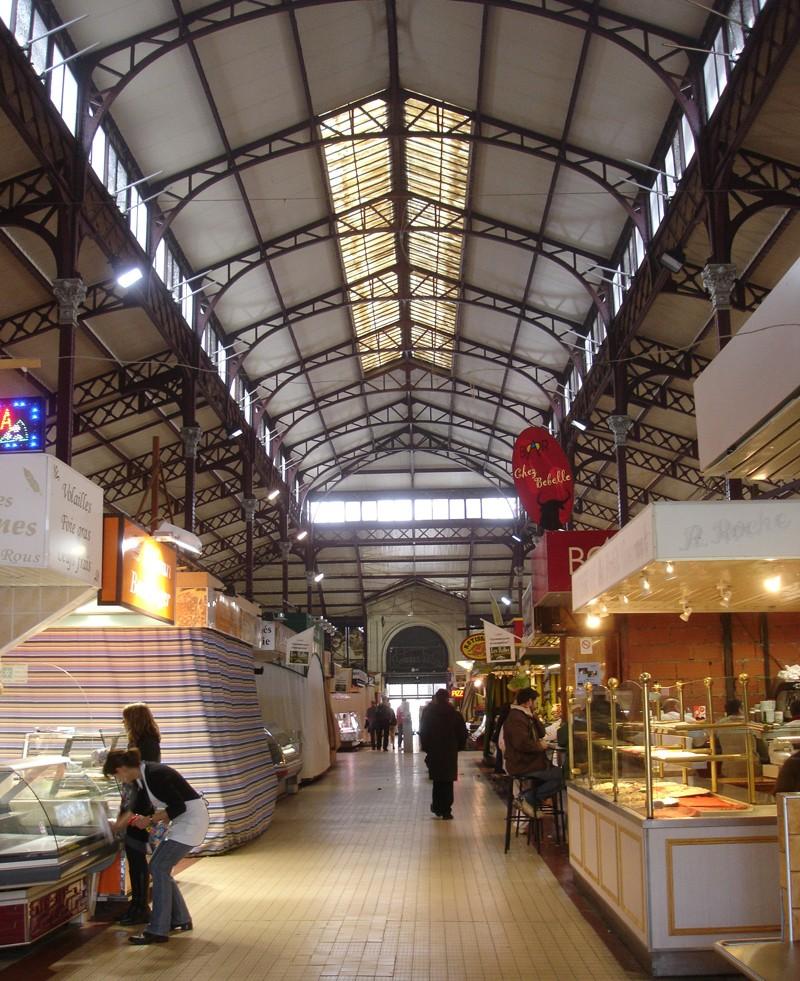 STREET VIEW : halles et marchés couverts 33661310