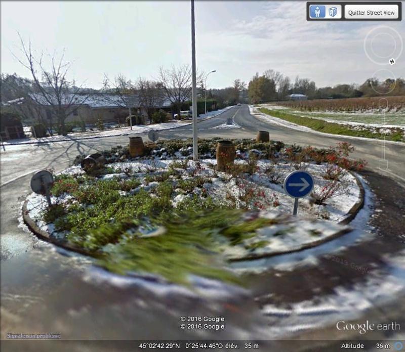 STREET VIEW : 2 sens de circulation = 2 saisons différentes vues de la Google Car ! [A la chasse !] - Page 2 B1110