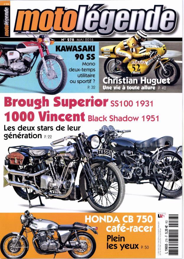 Brough sup et Vincent black Shadow:Moto légende.... Ml10