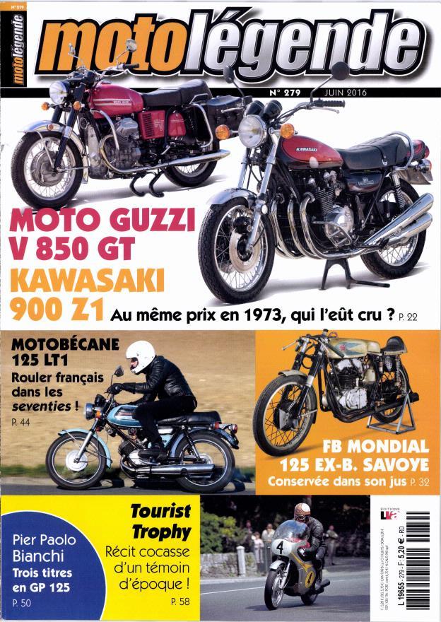 Moto légende avec une Guzzi V850 et une Kawa z 900.... Ml11