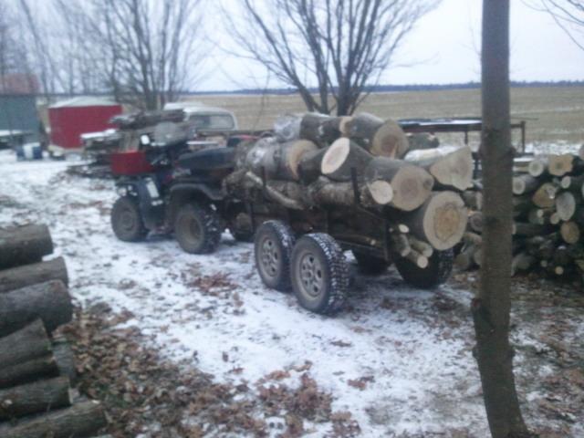 Je recherche remorque à bois pour vtt 2012-110