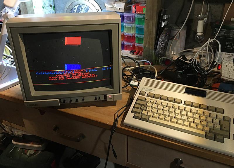 Commodore moniteur 1084 - installation péritel (résolu) Preite10