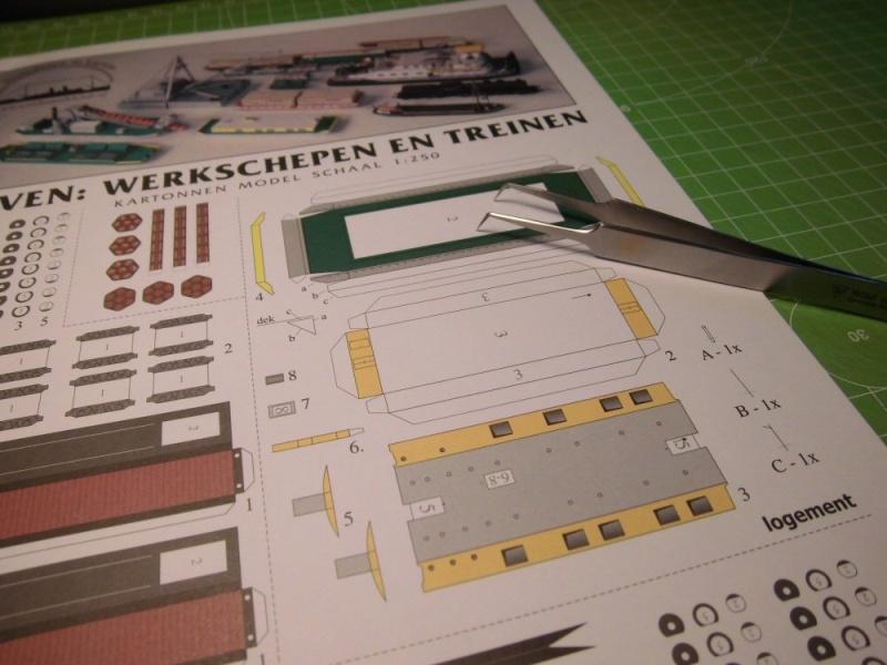 Modulares Hafendiorama für Schiffe in 1:250 Cimg2741