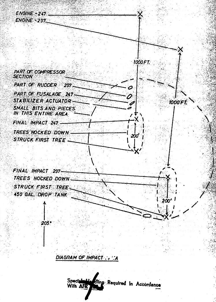 1963 - Crash : F 100 SUPER SABRE à Servance Ltt William Evans - Ltt William Whittington - Page 2 Crash_10