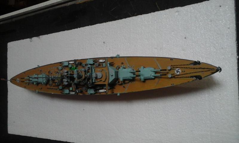 Le Bismarck de chez Revell échelle au 1/570 - Page 2 20160431