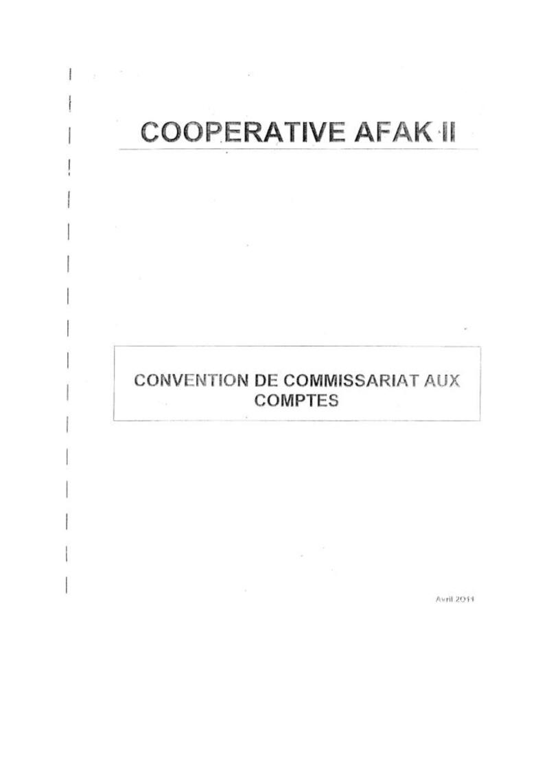 Documents officiels concernant le projet AFAK dans l'ordre chrologique 2011-017