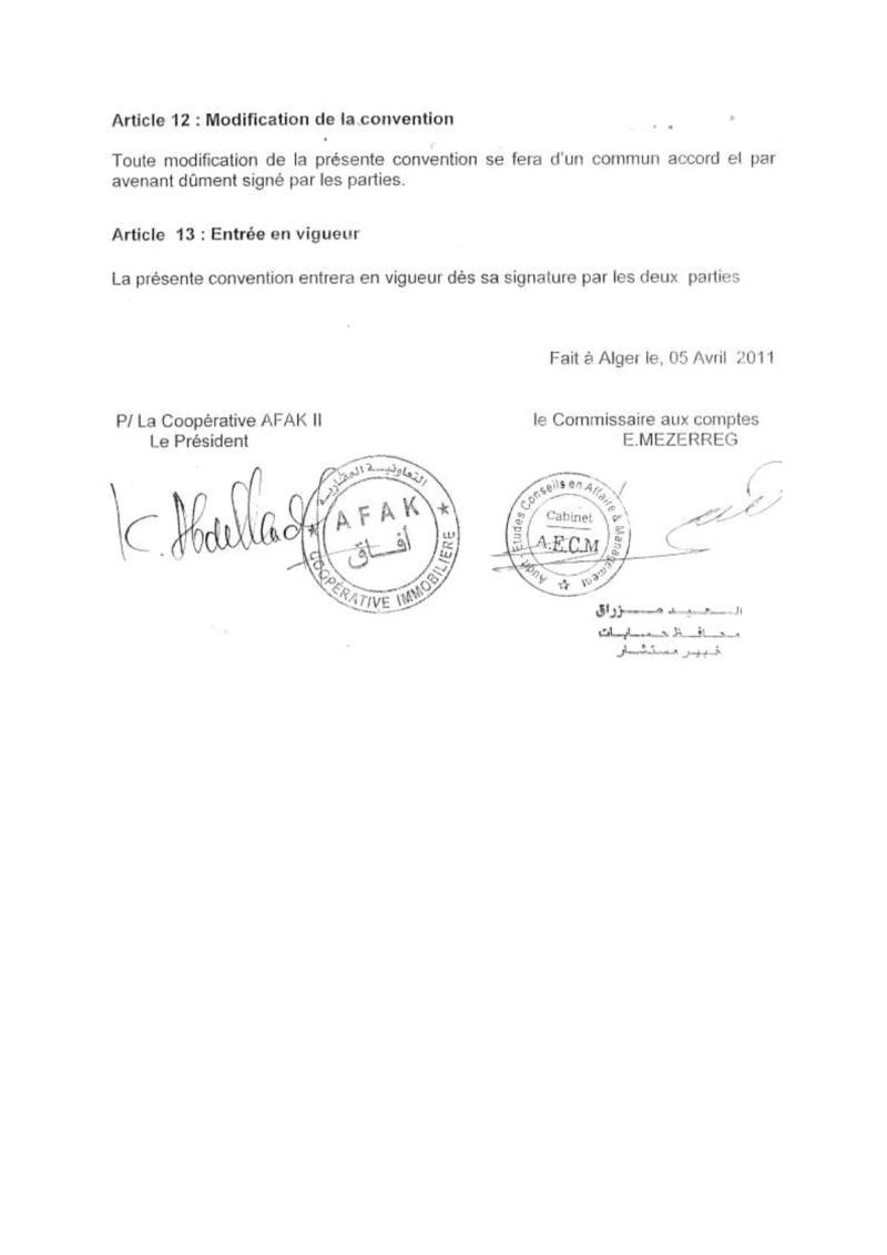 Documents officiels concernant le projet AFAK dans l'ordre chrologique 2011-022