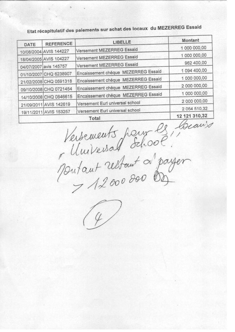 Documents officiels concernant le projet AFAK dans l'ordre chrologique 2011-111