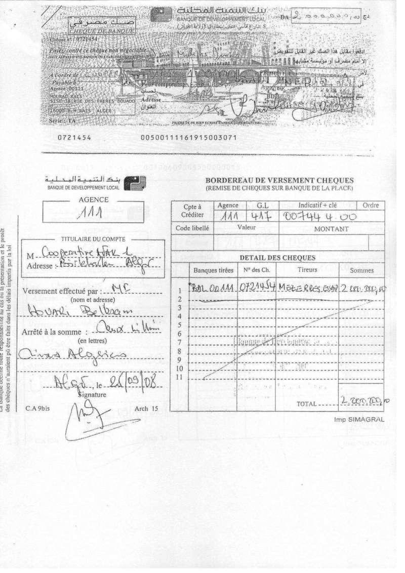 Documents officiels concernant le projet AFAK dans l'ordre chrologique 2011-114