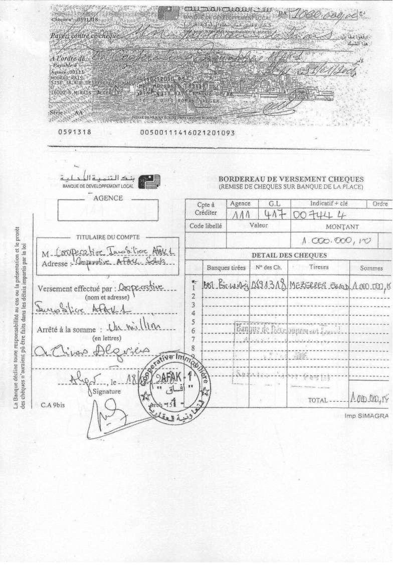 Documents officiels concernant le projet AFAK dans l'ordre chrologique 2011-115