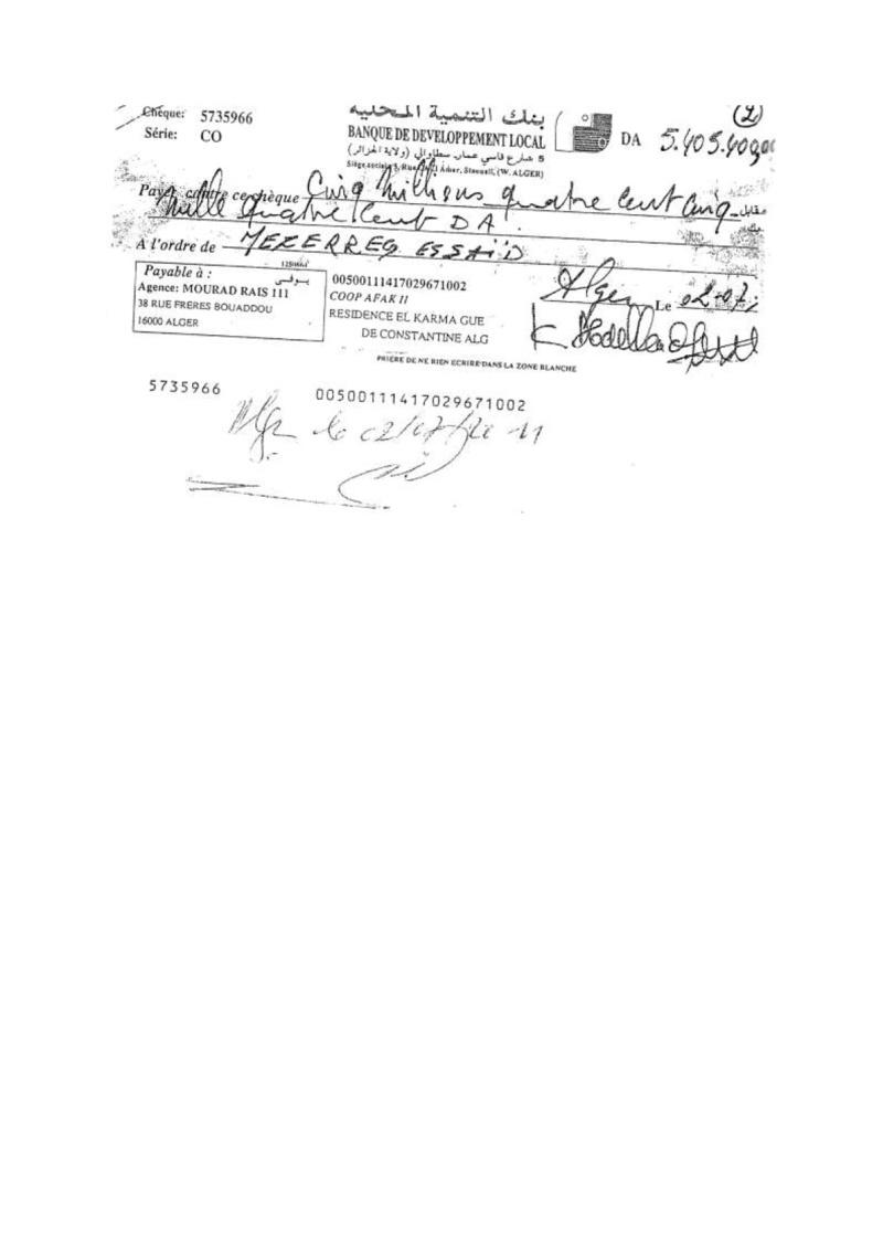 Documents officiels concernant le projet AFAK dans l'ordre chrologique 2013-118