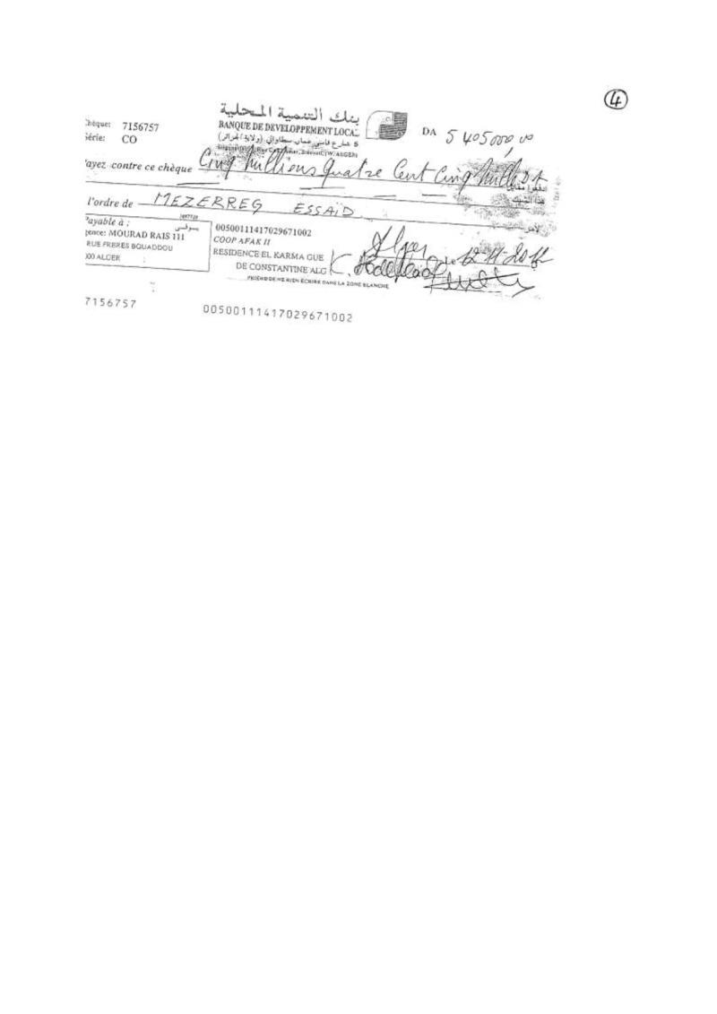 Documents officiels concernant le projet AFAK dans l'ordre chrologique 2013-119