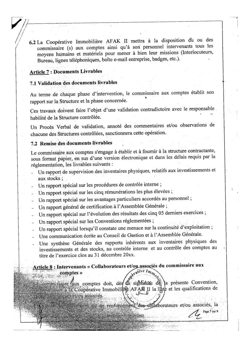 Documents officiels concernant le projet AFAK dans l'ordre chrologique 2015-102