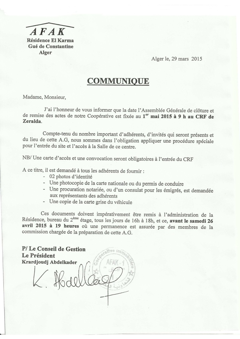 Communications et décisions Commun29