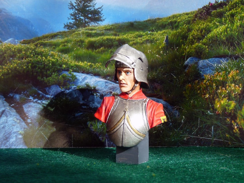 Mercenaire suisse 1470 1/12 FER Miniatures Swiss_10