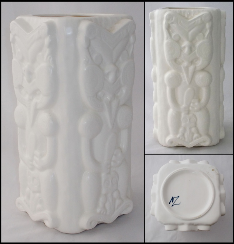 Studio Ceramics Tiki floor vase for gallery Tiki_v10