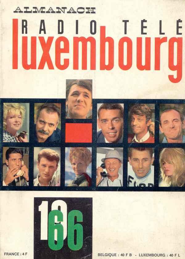 Almanach Radio Télé Luxembourg Alma6610