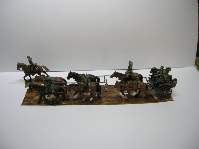 Attelage allemand d'artillerie FH-18 105 mm (revell) au 1/72--  fini------ - Page 3 Dscn3926