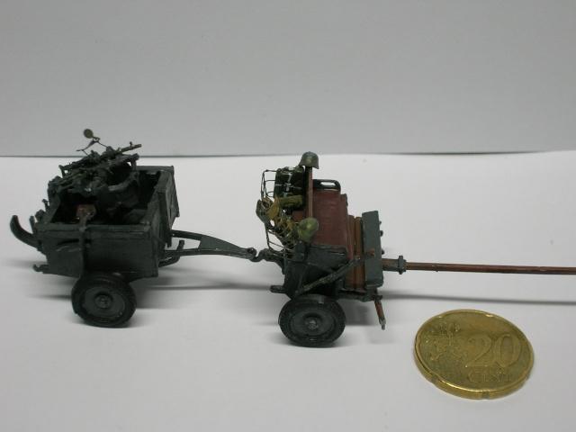 Attelage hippomobile d'affût Zwillingslafette 36 de 2 x MG 34 flak. [ ACE - 1/72° ] FINI Dscn3937
