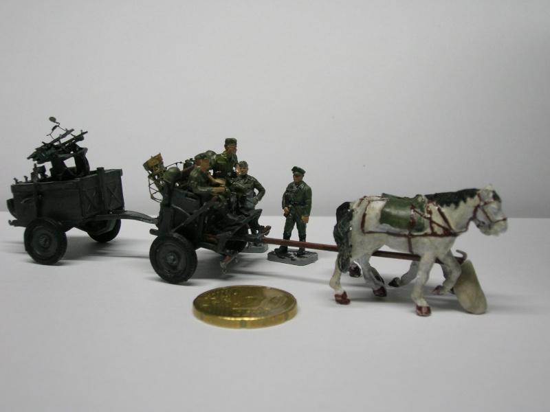 Attelage hippomobile d'affût Zwillingslafette 36 de 2 x MG 34 flak. [ ACE - 1/72° ] FINI Dscn4011