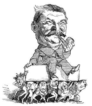 [Caricature] Stewart Copeland et le peuple. Carica10