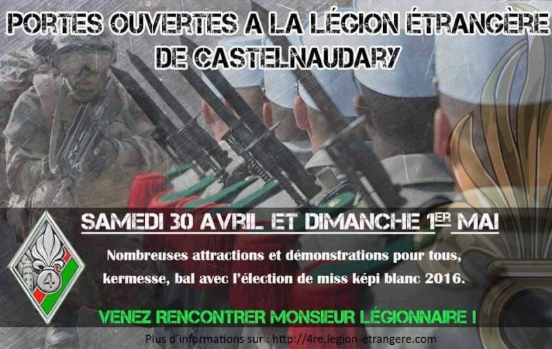 Journées portes ouvertes au 4°régiment étranger de Castelnaudary Legion10