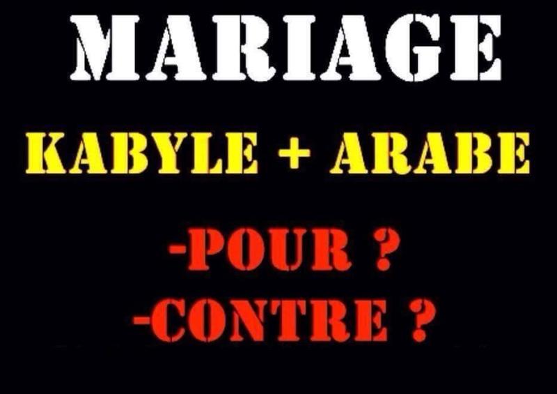 Que pensez vous du mariage Kabyle Araba?  214
