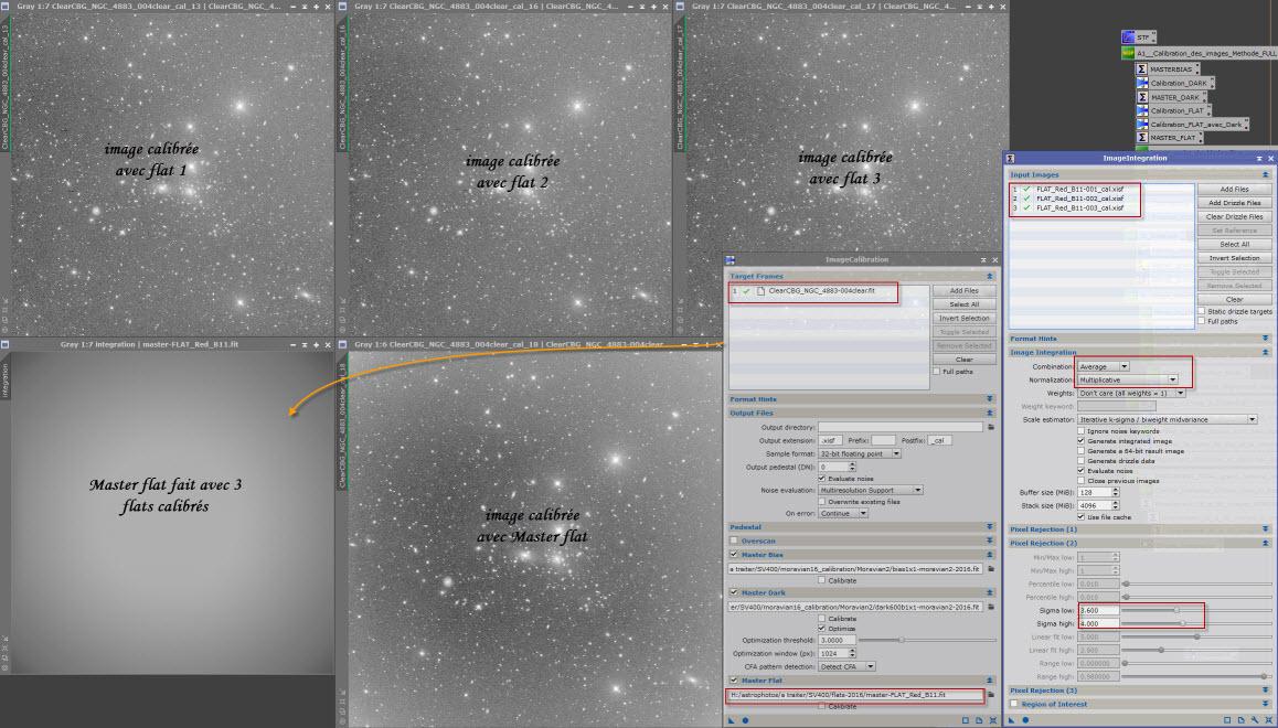 Calibration d'une image brute avec Master flat : problème 17-04-12