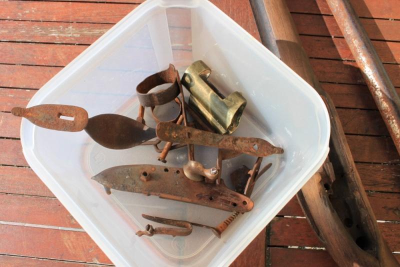 début de restauration d'un fusil mdle 1777 Img_8112