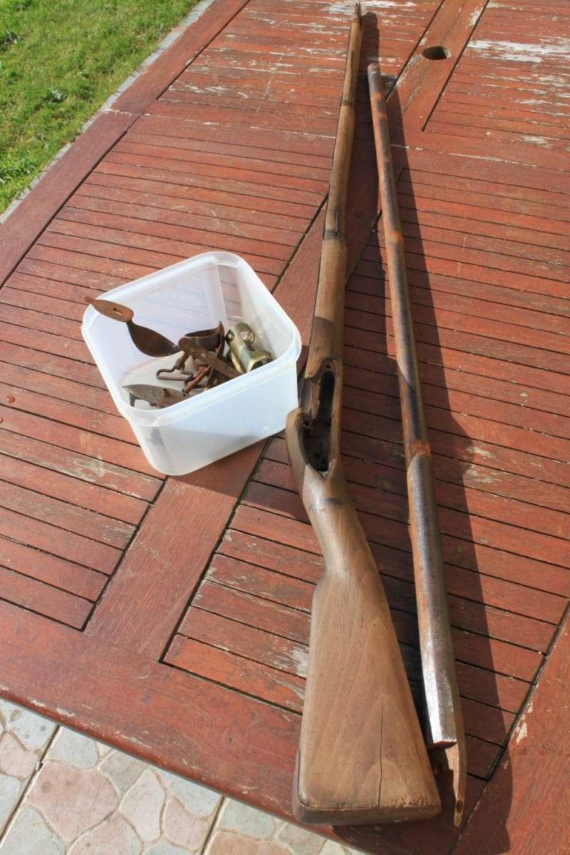 début de restauration d'un fusil mdle 1777 Img_8113