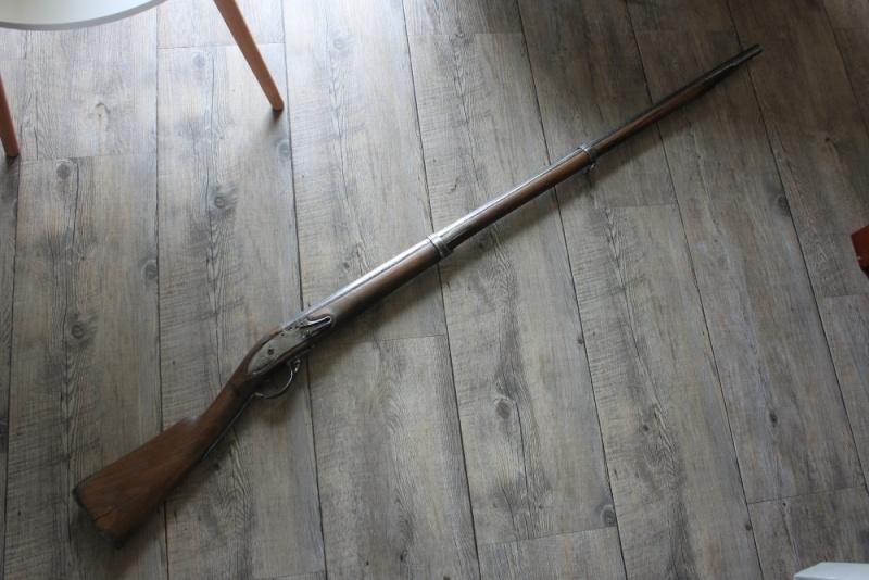 début de restauration d'un fusil mdle 1777 Img_8119