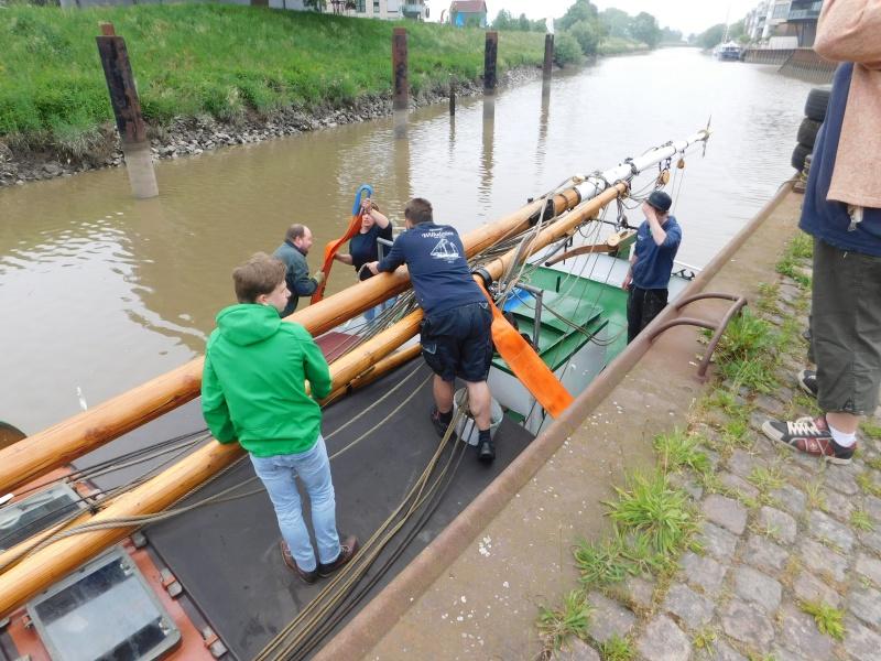 Der Willi kommt zurück in den Stader Hansehafen Dscn1724