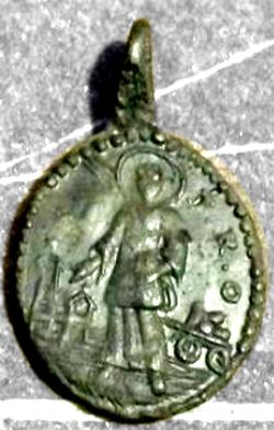 Medalla sin identificación Desc10