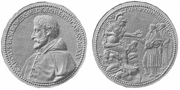 Las  MEDALLAS de San CARLOS BORROMEO. SIGLOS XVI- XVII- XVIII. Apuntes iconográficos. Gnecch13