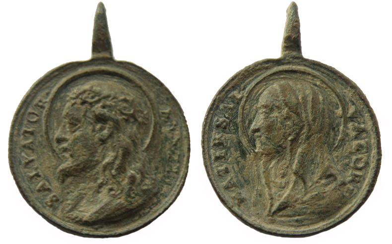 Recopilación medallas con el Rostro de Cristo ( Salvator Mvndi II) Jesucr16