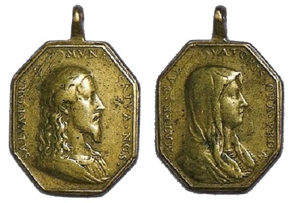 Recopilación medallas con el Rostro de Cristo ( Salvator Mvndi II) Jesucr22