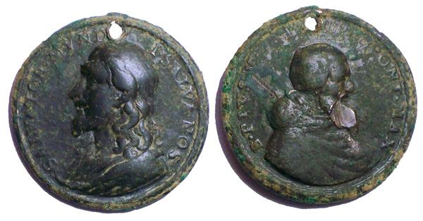 Recopilación medallas con el Rostro de Cristo ( Salvator Mvndi II) Pio_v_10